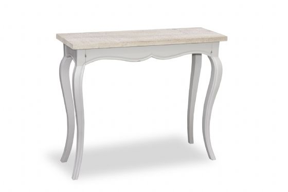 Fowey Hall Console Table - Grey
